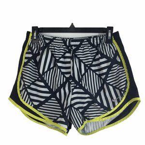 Nike Womens Shorts Dri-Fit Black White Design